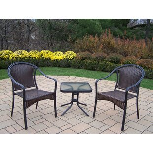Tuscany 3 Piece Conversation Set by Oakland Living Top Reviews