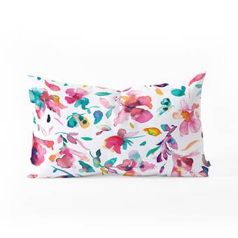 Bloomsbury Market Iberis Cotton Bolster Pillow Reviews Wayfair