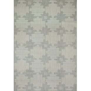 Hysley Gray Indoor/Outdoor Area Rug