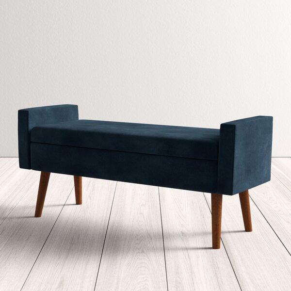 Modern Contemporary 78 Inch Storage Bench Allmodern