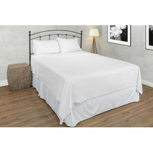 Guyton 600 Thread Count Solid Color 100% Egyptian-Quality Cotton Sheet Set