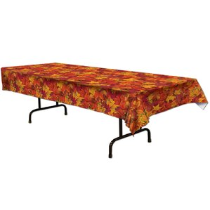 Delightful Fall/Thanksgiving Fall Leaf Table Cover