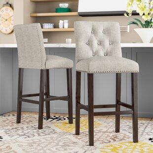 Magnificent Mcloud Bar Counter Stool Set Of 2 Alphanode Cool Chair Designs And Ideas Alphanodeonline