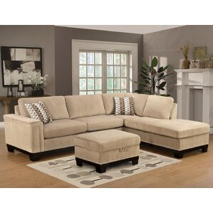 Opulence Reversible Sectional by Wildon Home ?