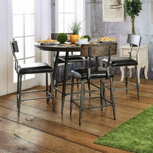 Moxley Industrial Counter Height Dining Table