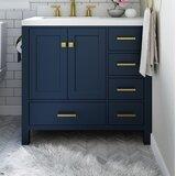 Joseline 37 Single Bathroom Vanity Set by Mercer41