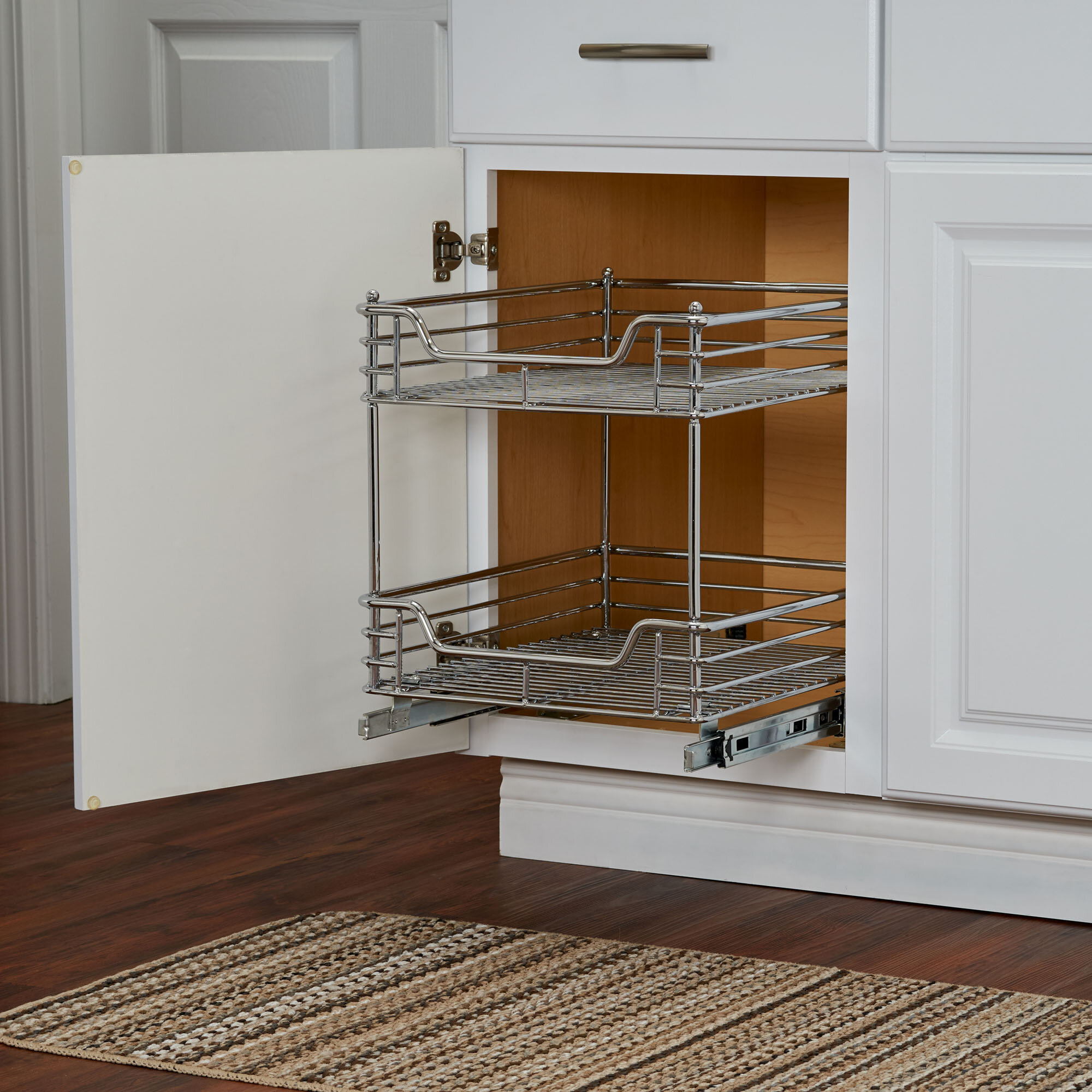 Cassity 2 Tier Sliding Pull Out Drawer Reviews Birch Lane