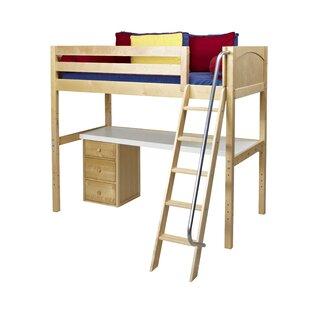 Bordelon Loft Bed with Storage