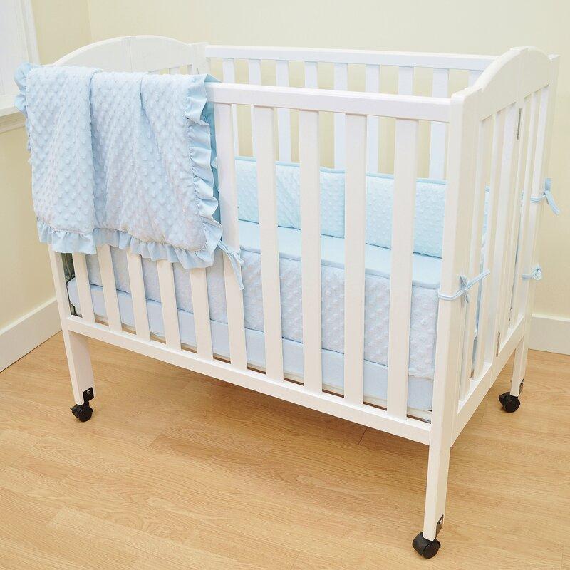 Rufus 3 Piece Crib Bedding Set