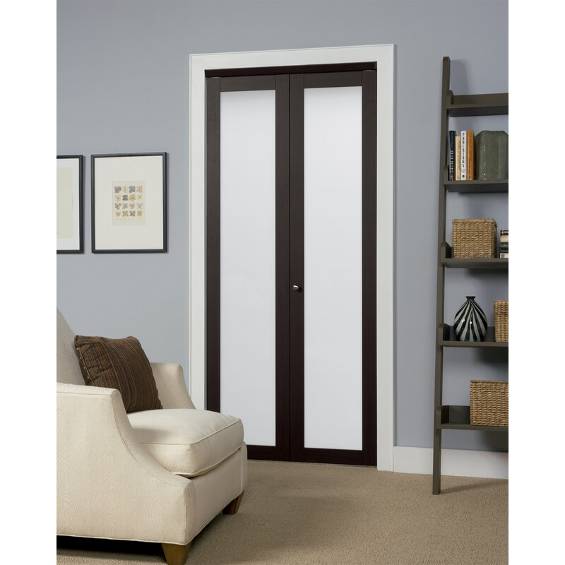 Erias Home Designs Wood Baldarassario Bi Fold Doors With Hardware