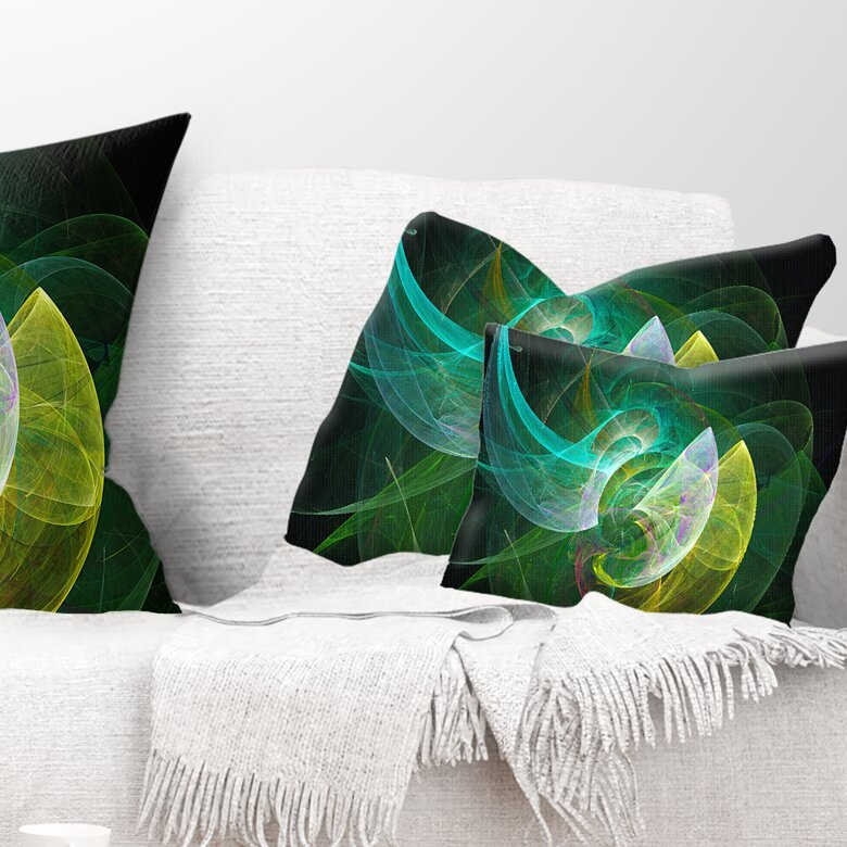 East Urban Home Abstract Mystic Psychedelic Texture Lumbar Pillow Wayfair