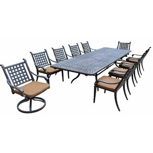 Arness 14 Piece Dining Set and Lounge Set