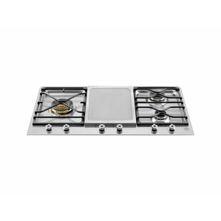 Pro Series 35'' Gas Cooktop with 4 Burners