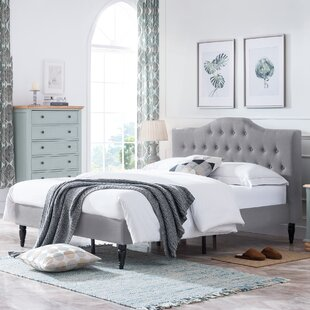 Bluhm Contemporary Queen Fully Upholstered Panel Bed
