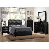 Kaarlo Queen Upholstered Sleigh 5 Piece Dresser Set by Red Barrel Studio®