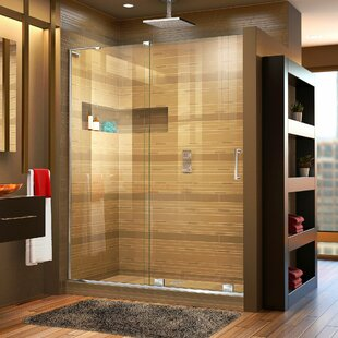 Savings Mirage-X 60 x 72 Single Sliding Frameless Shower Door with Clearmax™ Technology By DreamLine