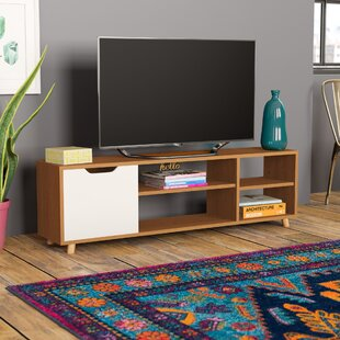 Horologium Shelf Storage Multi Function TV Stand for TVs up to 55
