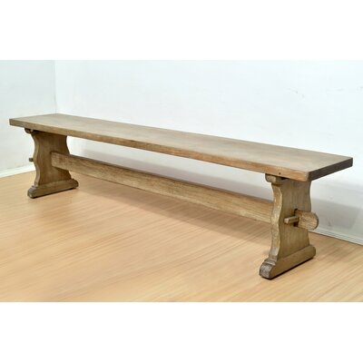 Outstanding Santa Fe Wood Bench Casual Elements Gmtry Best Dining Table And Chair Ideas Images Gmtryco