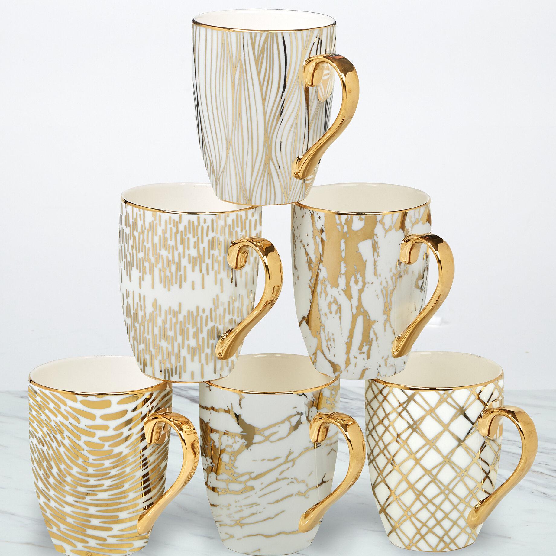 Mercer41 Mcwhorter 6 Piece Coffee Mug Set Reviews Wayfair