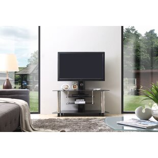 Compare prices Glass TV Stand for TVs up to 43 by Hodedah Reviews (2019) & Buyer's Guide