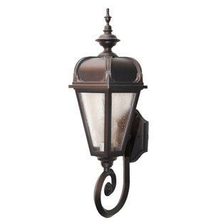 Flannigan 1-Light Outdoor Sconce By Charlton Home Outdoor Lighting