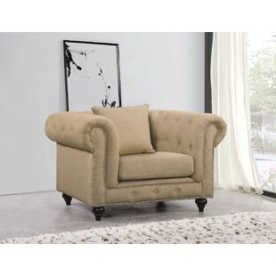 Great choice Bottom Chesterfield Chair by Darby Home Co Reviews (2019) & Buyer's Guide