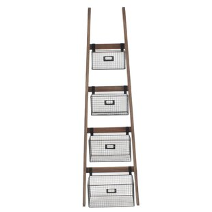 Tallulah Wall Shelf Ladder Bookcase