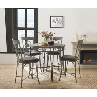 Hand 5 Piece Dining Set by Red Barrel Studio
