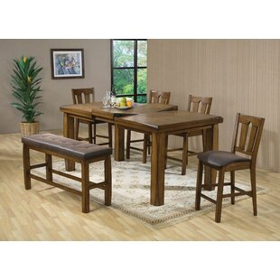 Blaney 6 Piece Pub Table Set Loon Peak