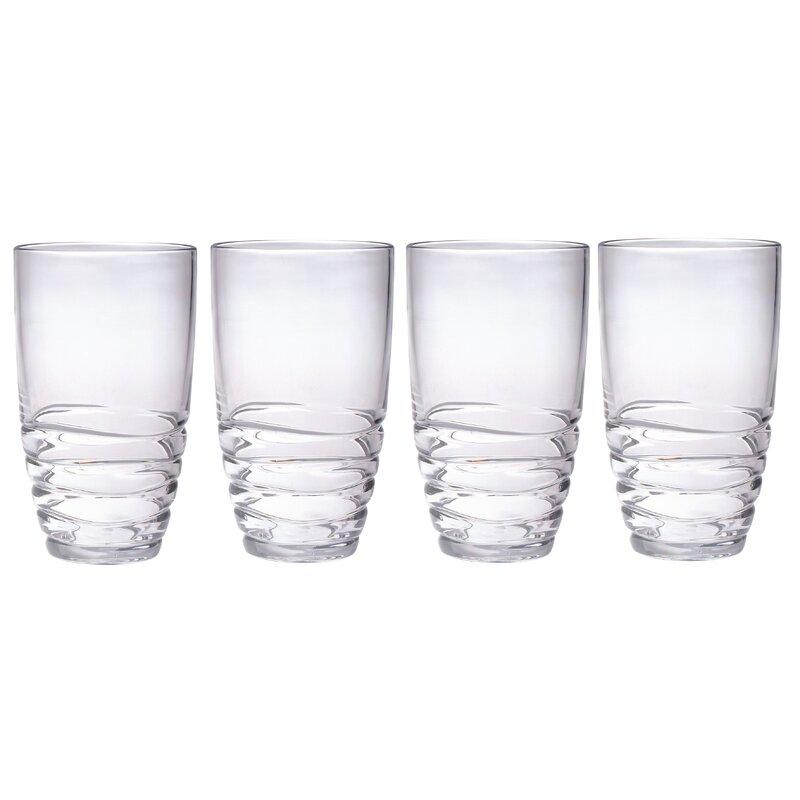 Chenco Inc Mesa 20 Oz Plastic Drinking Glass Reviews Wayfair
