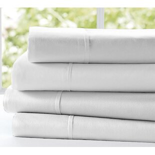 Gilley 300 Thread Count 100% Cotton Flat Sheet (Set of 2)