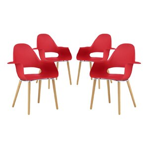 Soar Solid Wood Dining Chair (Set of 4) b..