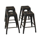 Evalyn 24'' Counter Stool (Set of 4) by Williston Forge