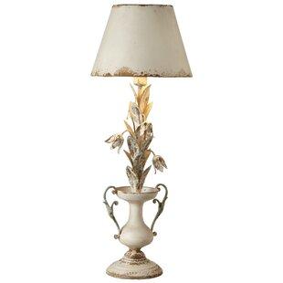 Olive Flower 34.5 Lamp