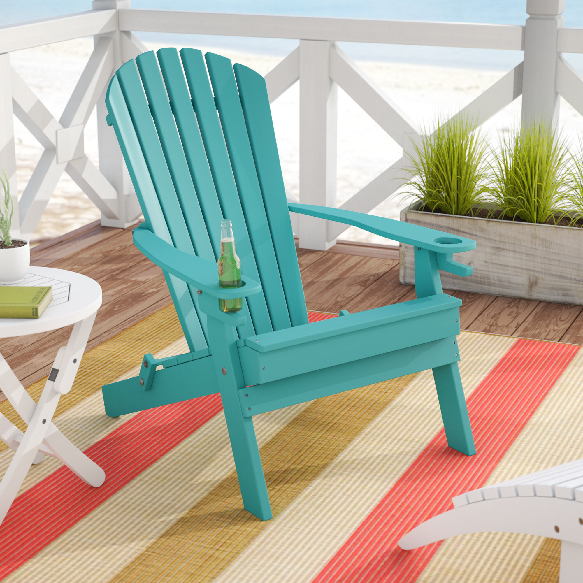Picture of: Folding Adirondack Chairs You Ll Love In 2020 Wayfair
