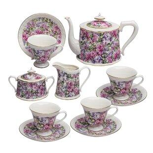 Mullens 11 Piece Porcelain Tea Set