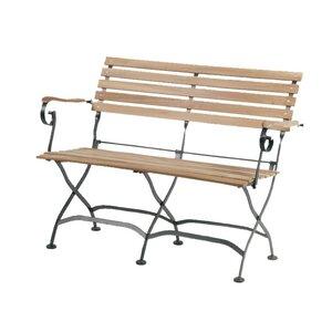 2-Sitzer Klapp-Bank Peru II aus Holz von Siena Garden
