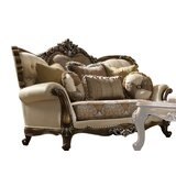 Spruce Hill Cotton 75 Rolled Arms Loveseat by Astoria Grand