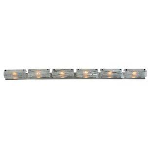 Metro Fusion Branches 6-Light Glass Bath Bar By Meyda Tiffany