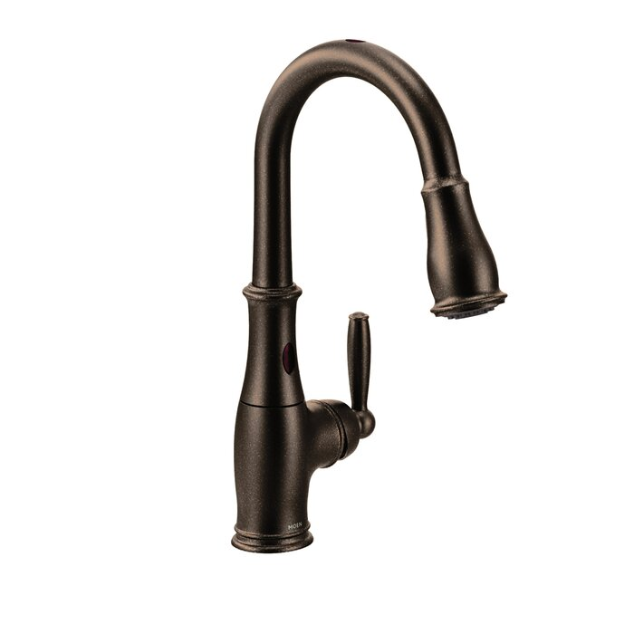 Brantford Pull Down Touchless Single Handle Kitchen Faucet with MotionSense  Technology