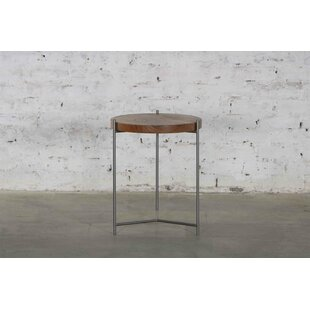 Comparison Abner Round End Table By 17 Stories