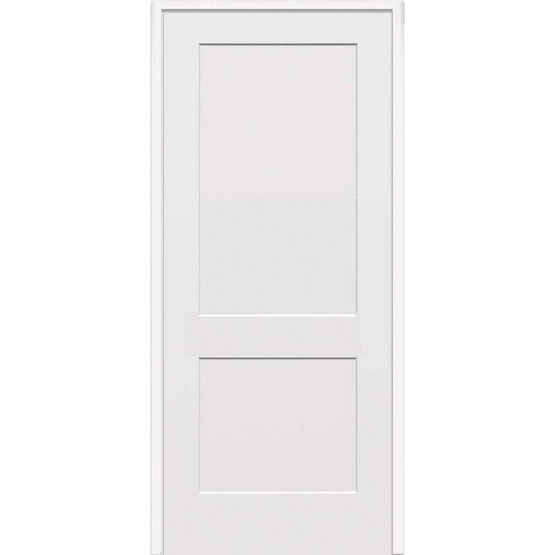 Verona Home Design 2 Flat Panel Single Solid Manufactured Wood