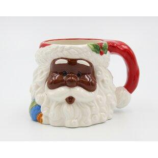 Dillard African American Santa Coffee Mug