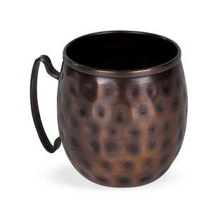 Bayswater 16 Oz. Moscow Mule Mug With Handle by Laurel Foundry Modern Farmhouse Today Sale Only