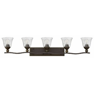 Compare prices Bolla 5-Light Vanity Light By Hinkley Lighting