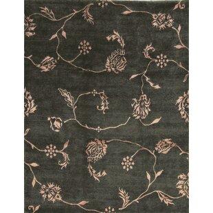 Comparison One-of-a-Kind Himalayan Art Handwoven 9'1 x 11'11 Black Area Rug ByBokara Rug Co., Inc.