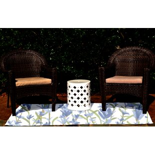 Orchard Lane Blue Indoor/Outdoor Area Rug