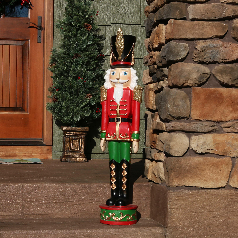 The Holiday Aisle The Nutcracker Soldier Christmas Decor Polyresin Figurine | Wayfair