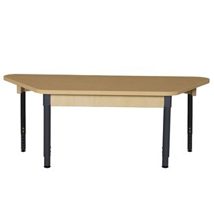 60 x 30 Trapezoidal Activity Table by Wood Designs