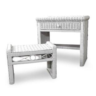 30 W Writing Desk with Bench by ElanaMar Designs